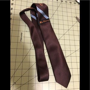Ben Sherman designer new logo brown tie